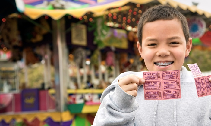 Placer County Fair - Kaseberg - Kingswood: $10.50 for Admission for Two Adults and Children, Including Parking at Placer County Fair ($21 Value)
