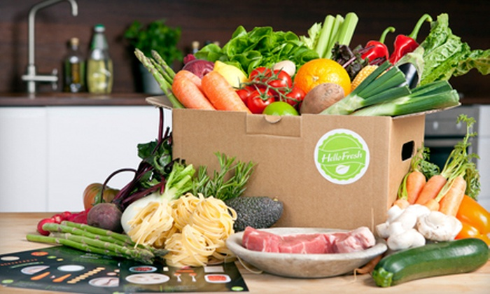 HelloFresh: Regular or Vegetarian Cook-at-Home Meals from HelloFresh (Up to 43% Off)