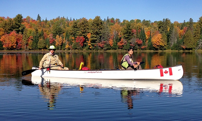 Algonquin Park Adventure Tours - Dwight: Guided Paddle Tours for Two, Three, or Four at Algonquin Adventure Tours (Up to 33% Off)