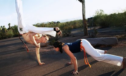 3, 10, or 20 Drop-In Classes at Capoeira Brasil-Arizona(Up to 72% Off)