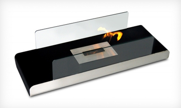 ModFlame - Mississauga: Eco Black or Red or Mini White or Black Freestanding Fireplace from ModFlame (Up to 58% Off)