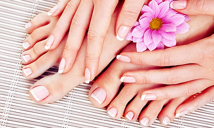 Street Side Salon - Affton: OPI Spa Pedicure with Optional OPI Avoplex Manicure or OPI Gel Color Manicure at Street Side Salon (Half Off)