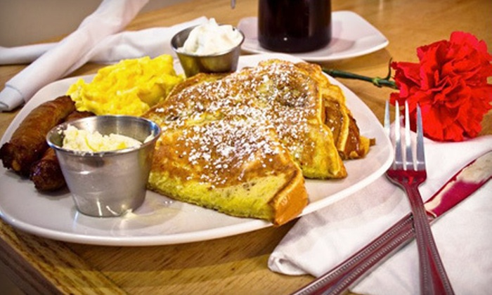 Scrambled - Hilltop Shopping Area,Bay Colony: Classic American Breakfast, Brunch, and Lunch Food at Scrambled (53% Off). Two Options Available.