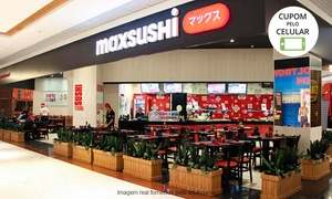 Max Sushi - Américas Shopping: Maxsushi – Américas Shopping: rodízio japonês para 1 ou 2 pessoas