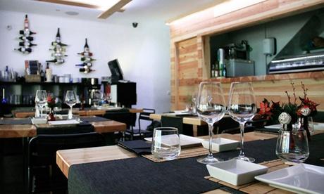 Sushid'aro: degustación gourmet de cocina japonesa para dos con maridaje de vino o cava por 58 €