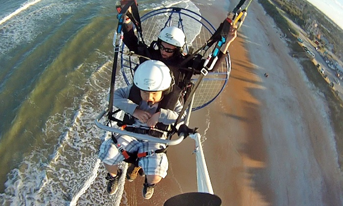 Paradise PPG - Palm Coast Area Beaches: Powered Paragliding for Two from Paradise PPG (46% Off)