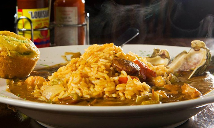 The Big Easy - Cary: $12 for $20 Worth of New Orleans–Style Cajun Food at The Big Easy