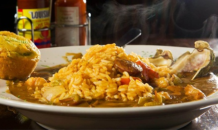 $12 for $20 Worth of New Orleans–Style Cajun Food at The Big Easy