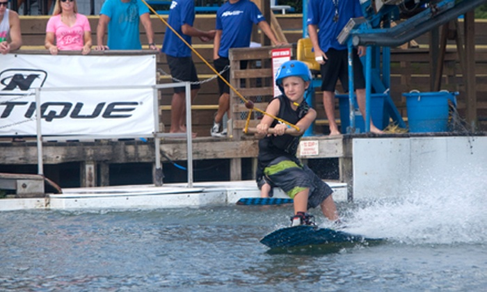 Orlando Watersports Complex - Orlando: $29 for a One-on-One Intro to Wakeboarding Lesson with Get-Up Guarantee, All-Day Pass, and Rental Gear  ($59 Value)