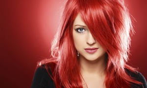 Forever Young Salon: Haircut Package with Optional Partial or Full Highlights at Forever Young Salon (Up to 61% Off)