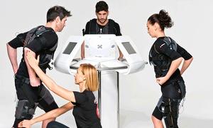 RAPID FIT & WELL SPORT: 4, 6 u 8 sesiones de electroestimulación con entrenador personal para 1 o 2 personas desde 49,95 €
