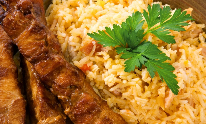 Persian Room - Desert View: Mediterranean Food at Persian Room (Up to 43% Off). Three Options Available.