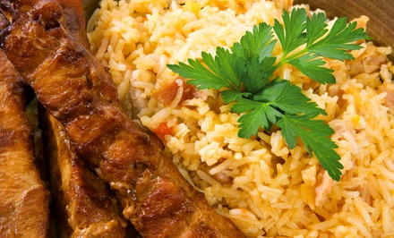Persian and Greek Cuisine at Alborz Restaurant (Up to 42% Off). Four Options Available.