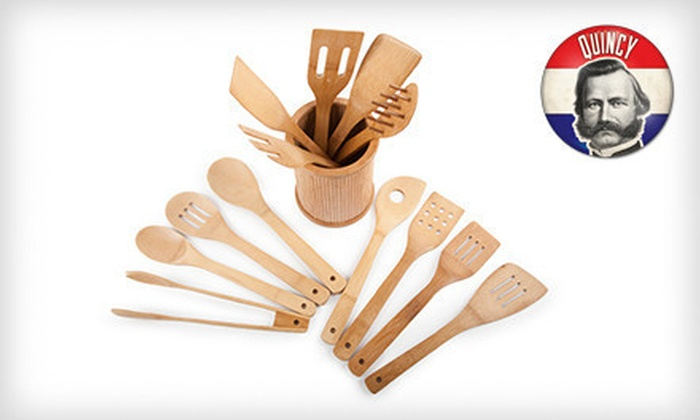 Core Bamboo 14-Piece Utensil Set: $19 for an Eco-Friendly Core Bamboo 14-Piece Utensil Set ($40 List Price). Free Shipping and Free Returns.