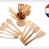 $19 for a Core Bamboo 14-Piece Utensil Set