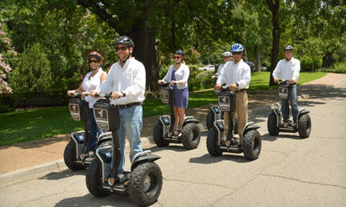 Segway Experience Center Fort Worth - Fort Worth: Botanic Garden Segway Tour for One, Two, or Four from Segway Experience Center Fort Worth (Up to 56% Off)