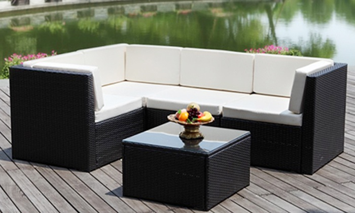 Groupon Goods: Vegas Five-Piece Outdoor Dining Set For R6 399 Including Delivery (51% Off)