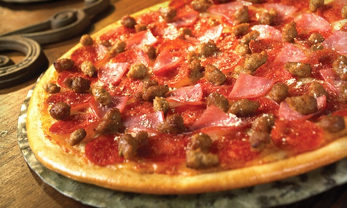 Gatti's Pizza  - Multiple Locations: $13 for a Meal with a Large Two-Topping Pizza, Soda, Salads, and Breadsticks at Gatti's Pizza ($26.03 Value)