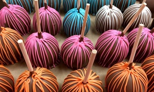 Aly's Apples: Gourmet Caramel Apples at Aly's Apples (Up to 50% Off). Four Options Available.