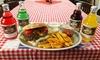 "DDR-Burger ""Grilletta"" & Limo"