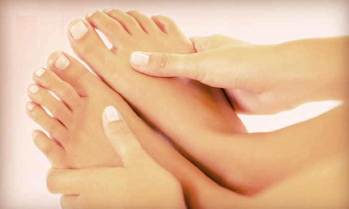 Pura Spa & Boutique - Hamden: One or Two Gel Manis and Peppermint Pedis or Brazilian Waxes at Pura Spa & Boutique (Up to 54% Off)