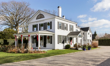 Groupon Deal: Gift a 2-Night Stay for Two in a Garden or Premium Room at Chatham Gables Inn in Chatham, MA. Combine Up to 4 Nights.