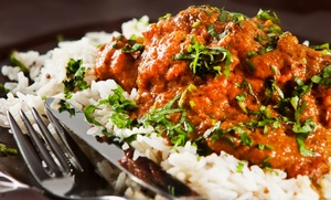 Saffron Indian Cuisine: Indian Meals for Two or Four at Saffron Indian Cuisine (Up to 53% Off)