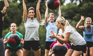 $65 For Four Weeks Of Unlimited Boot Camp Sessions At Camp Gladiator ($180 Value)