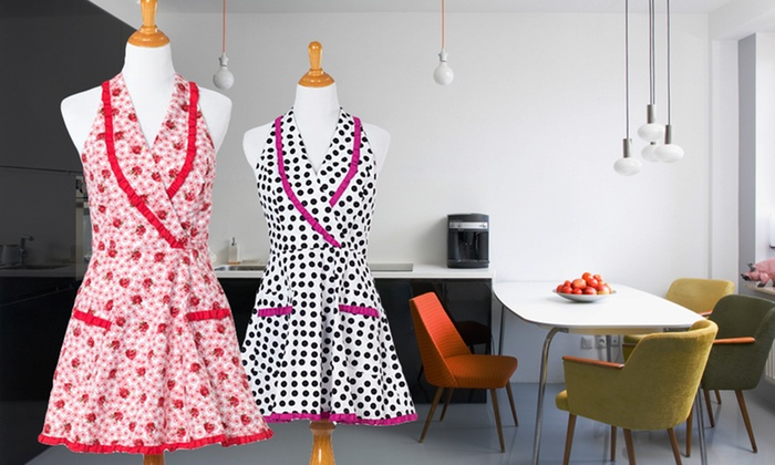 American Hostess Women's Aprons: American Hostess Women's Aprons. Multiple Styles Available.