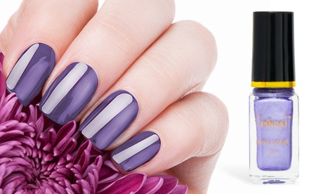 Hasta 4 esmaltes de uñas con efecto espejo metálico