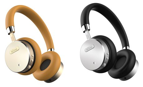 Bohm B66 Bluetooth Wireless Headphones with Noise-Canceling Technology