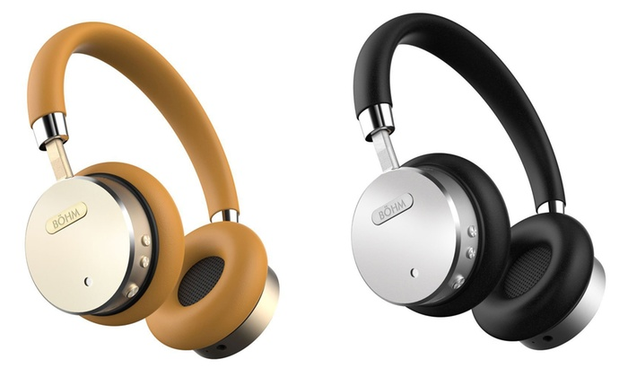 Bohm Bluetooth Wireless Headphones with Active Noise-Canceling Technology