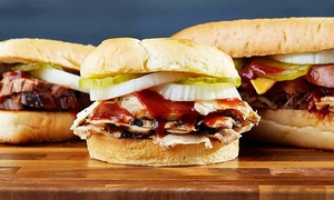 Dickey's Barbecue Pit - Plainfield: Barbecue Meal for Two or Four at Dickey's Barbecue Pit in Plainfield (Up to 38% Off)