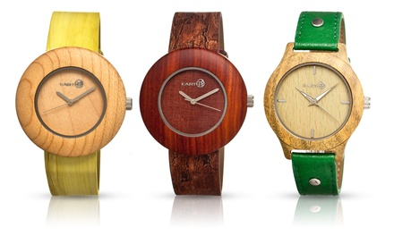 Earth Wood Tannins and Ligna Men's Eco-Friendly Watch