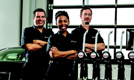 $25 for Signature Service Oil Change with Inspection and Vacuuming at Jiffy Lube (Up to $41.99 value)