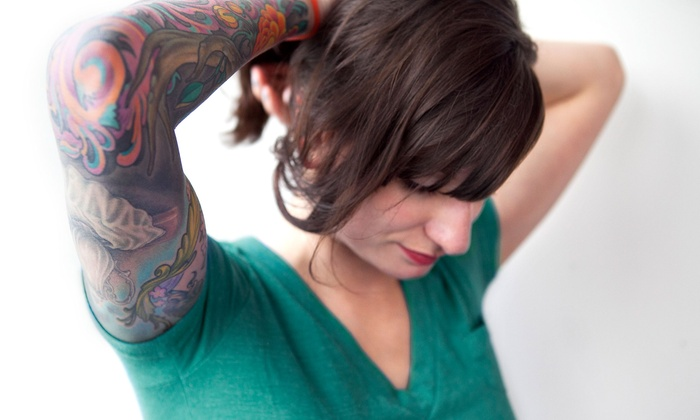 Tattoo Removal - Tattoo Removal: Three Sessions on Area Up to 3, 6, or 10 Square Inches at Tattoo Removal (Up to 67% Off)