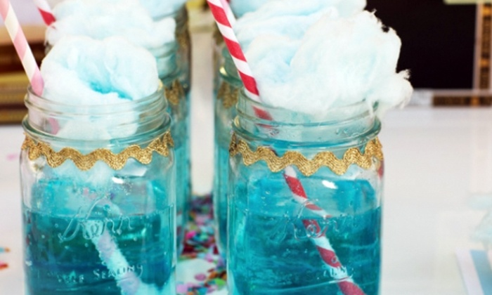 Cotton Clouds For A Cause - San Diego: $250 for Cotton Candy Spinning Services for Party of 300 from Cotton Clouds For A Cause ($500 Value)