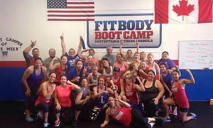 Fort Worth Fit Body Boot Camp: Four Weeks of Unlimited Boot-Camp Classes at Fort Worth Fit Body Boot Camp (70% Off)