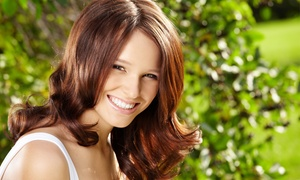 Studio K10: Haircut with Optional Single-Process Color or Partial or Full Highlights at Studio K10 (Up to 61% Off)