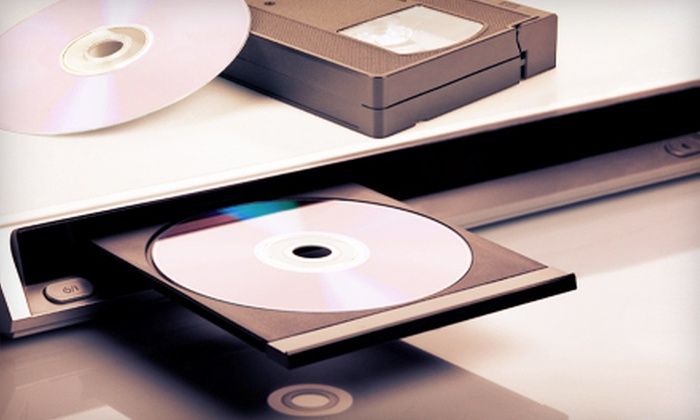 Groneck Photographix - Bellevue: Digital Transfer Services to DVDs and CDs at Groneck Photographix in Bellevue (Up to 75% Off). Four Options Available.