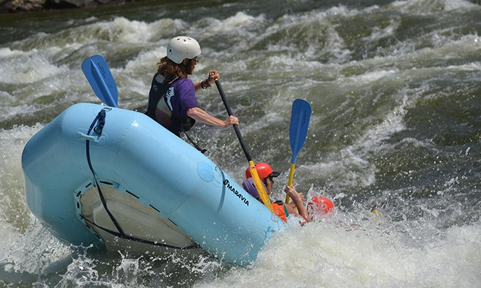 New & Gauley River Adventures - New Haven: Rafting and Two Nights of Camping for One, Two, or Four from New & Gauley River Adventures (Up to 59% Off)