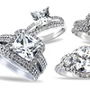 Cubic Zirconia Bridal Rings
