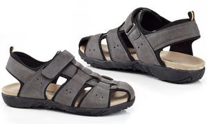 Marco Vitale Men's Caged Slip-On Sport Sandals (Size 8.5)
