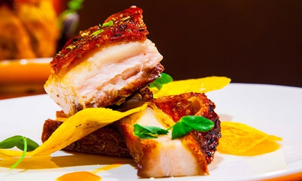 Cuban Cuisine for Lunch or Dinner for Two or Four at Agozar Cuban Restaurant (Up to 40% Off)
