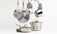 Anolon Nouvelle Copper 10-Pc. Cooking Set