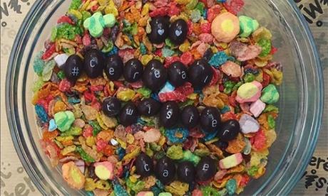 Menú de cereales para 2 o 4 con bol mediano de cereales y bebida de leche desde 3,95 € en Cereal Twister
