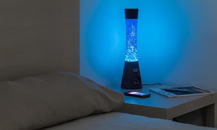lampe enceinte bluetooth groupon shopping. Black Bedroom Furniture Sets. Home Design Ideas