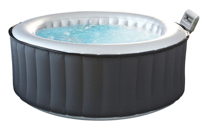 Groupon Goods Global GmbH: M-Spa Six-Seater Inflatable Hot Tub 930L With Free Delivery