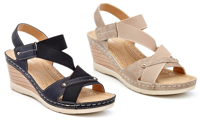 Casual Wedge Espadrille Sandals