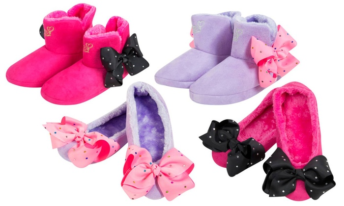 ea9ba1c48953 Up To 53% Off JoJo Siwa Bow Slippers